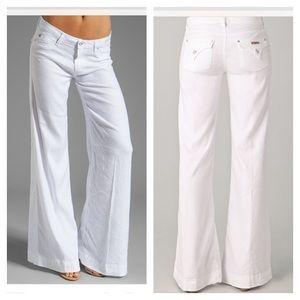 Denim - Hudson Gwen Wide Leg Jeans